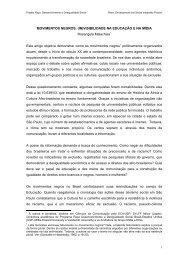Movimentos Negros - Mídia Etnia Educomunica