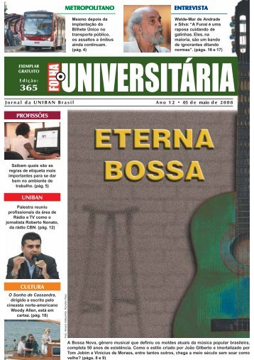 profissões entrevist entrevista metropolit ... - Folha - Uniban