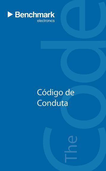Código de Conduta - Benchmark Electronics