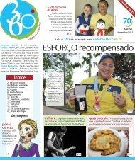 ESFORçO recompensado - Caderno 360