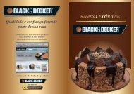 Livro Receitas Exclusivas Black&Decker 2011 - Black & Decker