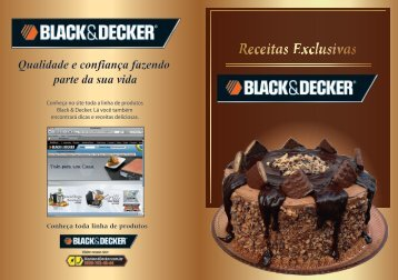 Livro Receitas Exclusivas Black&Decker 2011 - Black & Decker