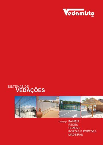 Catálogo - Vedamisto lda