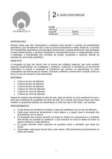 aluno - CDCC