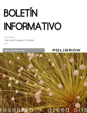 Boletín Informativo Poligrow No. 13