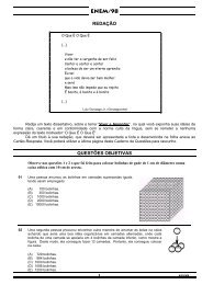 Download da prova do Enem 1998 - Inep