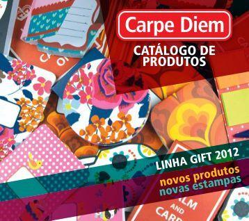 CATÁLOGO DE PRODUTOS - Carpe Diem