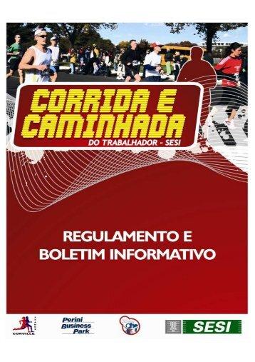 REGULAMENTO CORRIDA E CAMINHADA DO ... - Corville