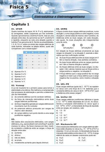 Fis05 - Eletrostática e Eletromagnetismo - Michael2M