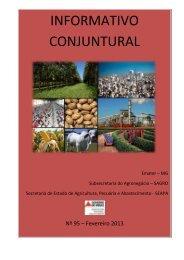 Fevereiro 2013 - [PDF] - Secretaria de Estado de Agricultura ...