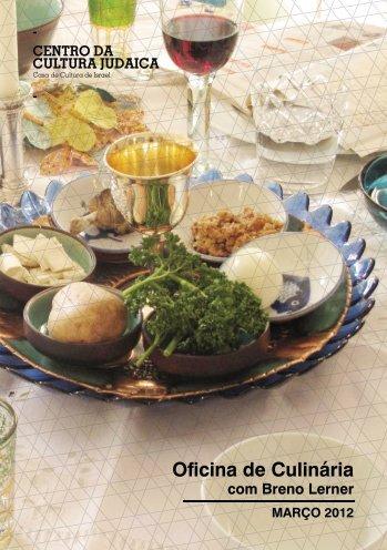 Receitas de março 2012 - Centro da Cultura Judaica