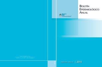 Boletín Epidemiológico Anual 2010 - Ministerio de Salud