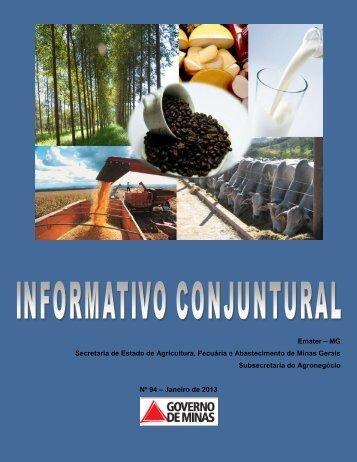 Janeiro 2013 - [PDF] [4,1 MB] - Secretaria de Estado de Agricultura ...