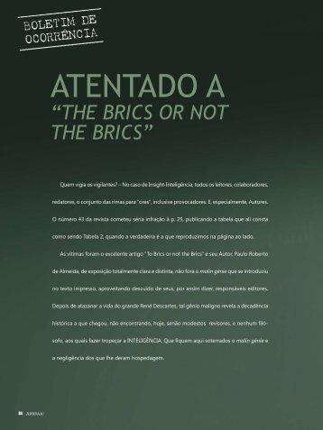 ATENTADO A - Inteligência