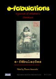 e-journal of children's literature - Biblioteca Digital - Universidade do ...