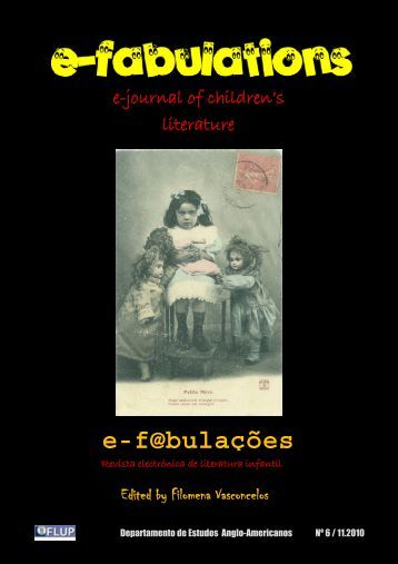 e-journal of children's literature - Biblioteca Digital - Universidade do ...
