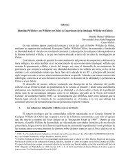 La recuperacin del control cultural williche - Universidad de Chile