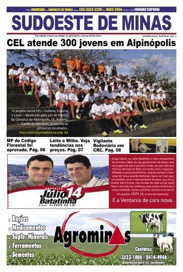 Jornal Sudoeste de Minas set2012.indd - Ventania Online