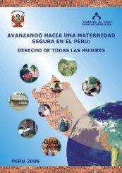 Avanzando hacia la maternidad segura en el Perú - UNFPA
