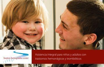 Asistencia integral para niños y adultos con trastornos hemorrágicos ...