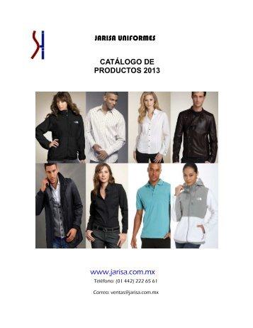 JARISA UNIFORMES CATÁLOGO DE PRODUCTOS 2013 www ...