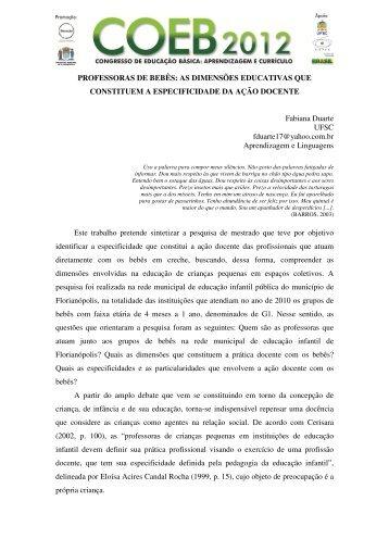 Artigo - Prefeitura Municipal de Florianópolis
