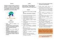 TRIPTICO 3 CONGRESO - SNTE Sección 8