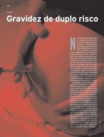 Gravidez de duplo risco - Revista Pesquisa FAPESP