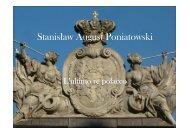 Stanislaw August Poniatowski - Università degli studi di Udine