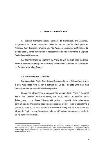 Capítulo II - Basílica Santuário Nossa Senhora da Conceição em ...