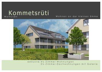 NEUBAU 4 MFH, PARZ. 1150 BIS 1153 + 388 - Walter Zimmermann ...