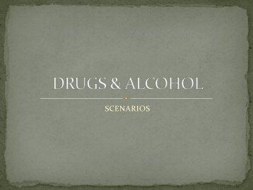 DRUGS & ALCOHOL - St Mark Church