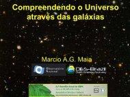 a Galáxia - Observatório Nacional