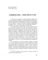 Literatura oral : pare, escute e use / Francisco Topa