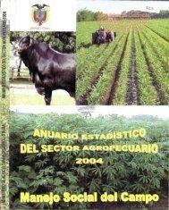 r8rADísTICO DEL SECTOR AGROPECUARIO 2004