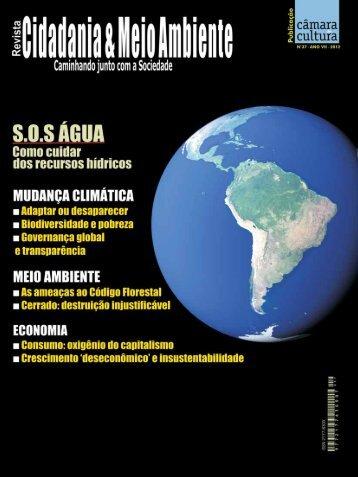 recursos hídricos - Câmara de Cultura