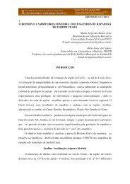 1 CORONÉIS E CAMBITEIROS: HISTÓRIA DOS ENGENHOS DE ...
