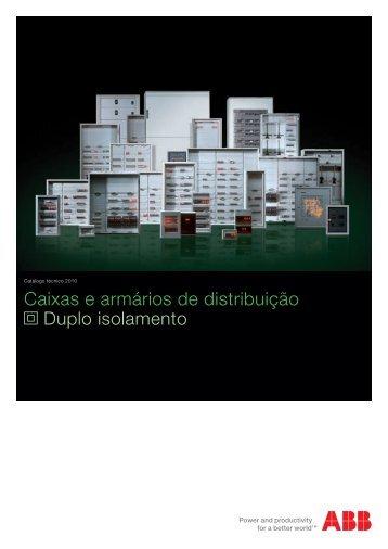 Caixas e Armários de Distribuição 2010 (web).pdf - ABB
