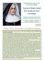 Folha Informativa 53 - Hermanas de la Caridad del Sagrado ...