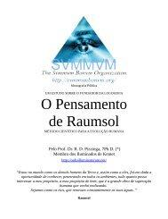 O Pensamento de Raumsol - Ordo Svmmvm Bonvm
