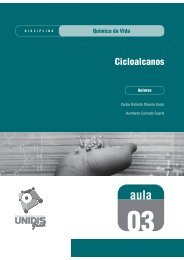 Química da vida: Cicloalcanos