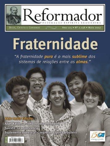 reformador maio 2007 - a.qxp - Federação Espírita Brasileira
