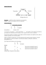 Biologia Molecular I Bioquímica – estudo de um único ... - MIT