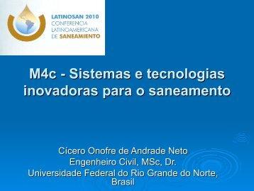 Cícero Onofre de Andrade Neto - Abes