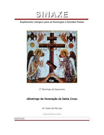 Domingo da Veneração da Santa Domingo da Veneração ... - Ecclesia