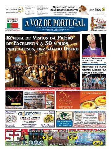 revistA de vinhos dá prémio de excelênciA A 30 ... - A Voz de Portugal