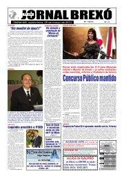 Concurso Público mantido - Jornal Brexó
