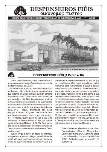 jornal dos oficiais da igreja presbiteriana de currais novos - Iglesia ...