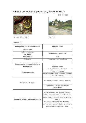 VILELA DO TÂMEGA   PONTUAÇÃO DE NÍVEL 3