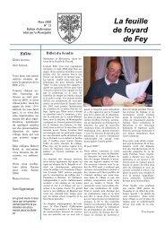 FFF 13 Mars 2008 - Commune de Fey